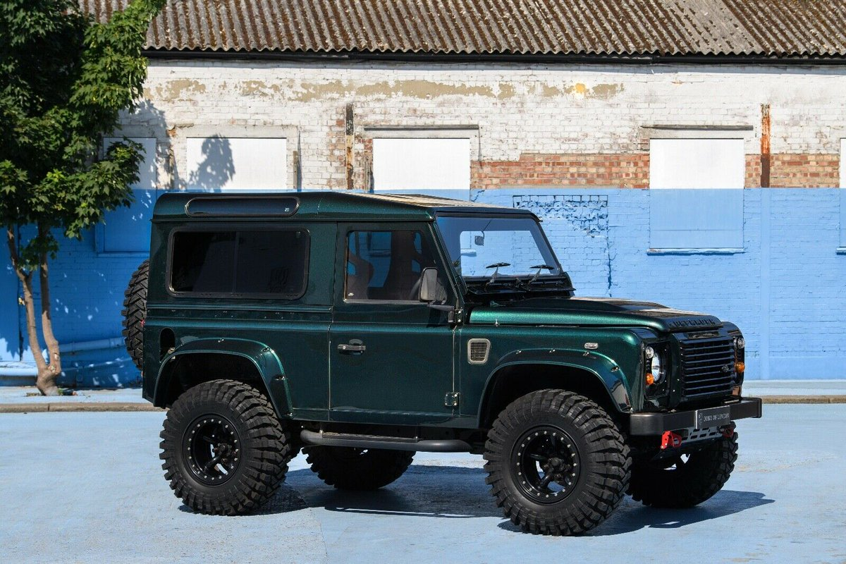Ad - Defender 90 TD5 On eBay here -->> http://ow.ly/qOt250AnRzd  #defender #landrover pic.twitter.com/6Eif1xcyrb
