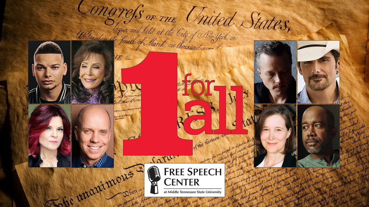 244 years ago, #America set off fireworks that would lead to 5 critical rights for every person: #freespeech, #religion, a #freepress, freedom of #assembly & to petition the gov't. Learn about OUR #FirstAmendment in @FreeSpeechMTSU's #1ForAll campaign: https://t.co/dMovC46dQN https://t.co/3XhHih8cQD