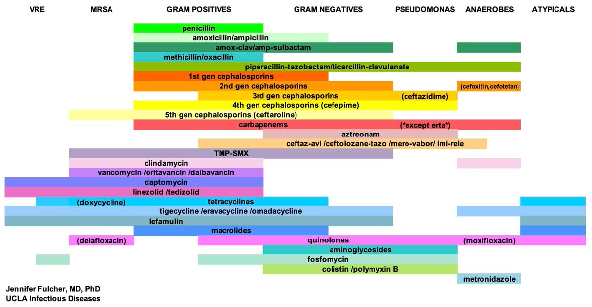 """New Intern Series: Antibiotic and Antifungal Susceptibilities (Antibiograms)  Search """"Antibiogram"""" to find and bookmark these images on GrepMed ->  https://www. grepmed.com/?q=antibiogram      #FOAMed #MedEd <br>http://pic.twitter.com/tfHTirMsxs"""