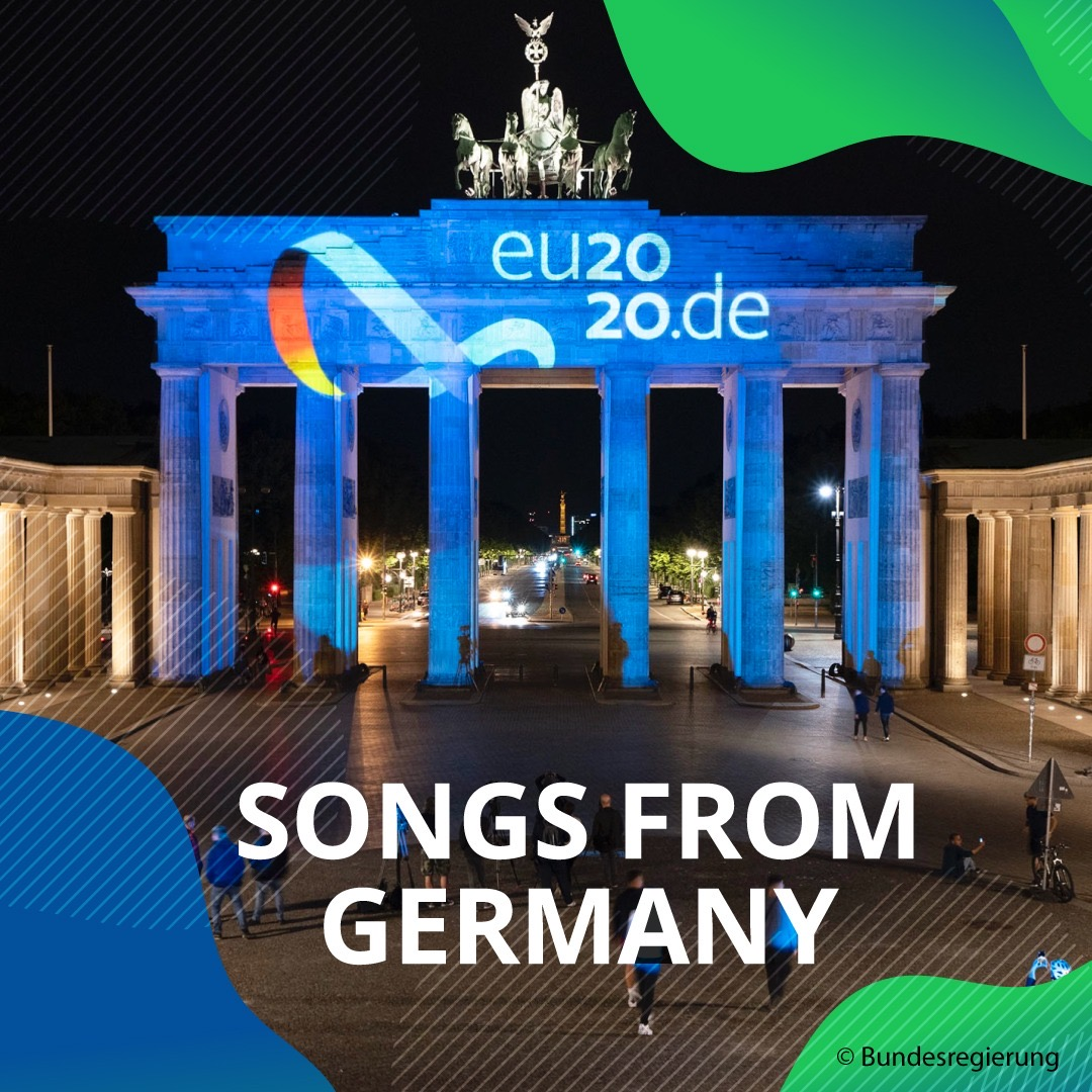 🎧 Ready for the weekend and tired of listening to the same old songs? Let's switch things up with the new #EU2020DE playlist 🎶. Enjoy the mix of 🇩🇪 tunes that celebrates the start of the German @EUCouncil Presidency.  https://t.co/VEZ23MD5Rv https://t.co/EURRYunY7Q