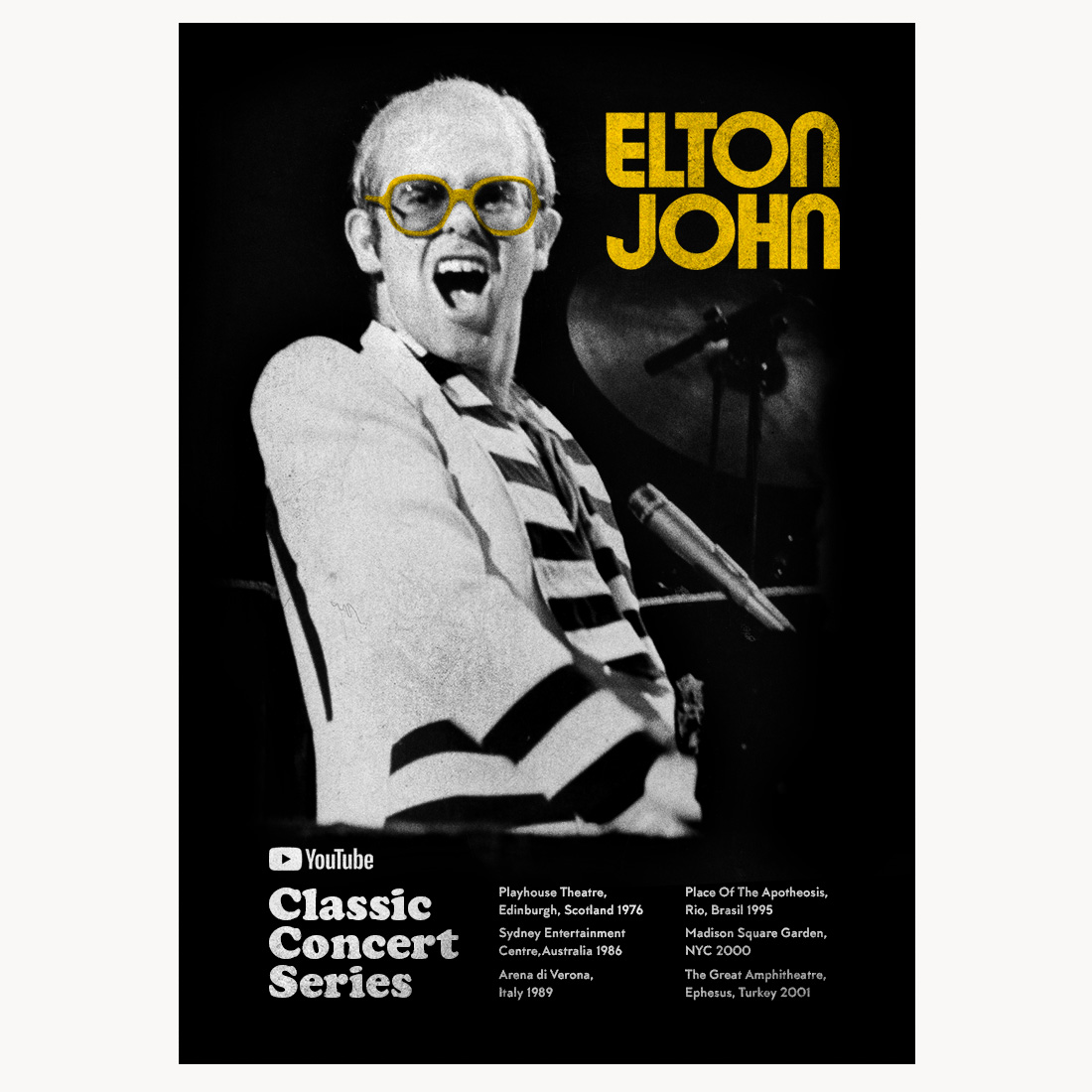 The first Classic Concert Series has premiered! Watch with us at EltonJohn.lnk.to/CCSWP 🚀