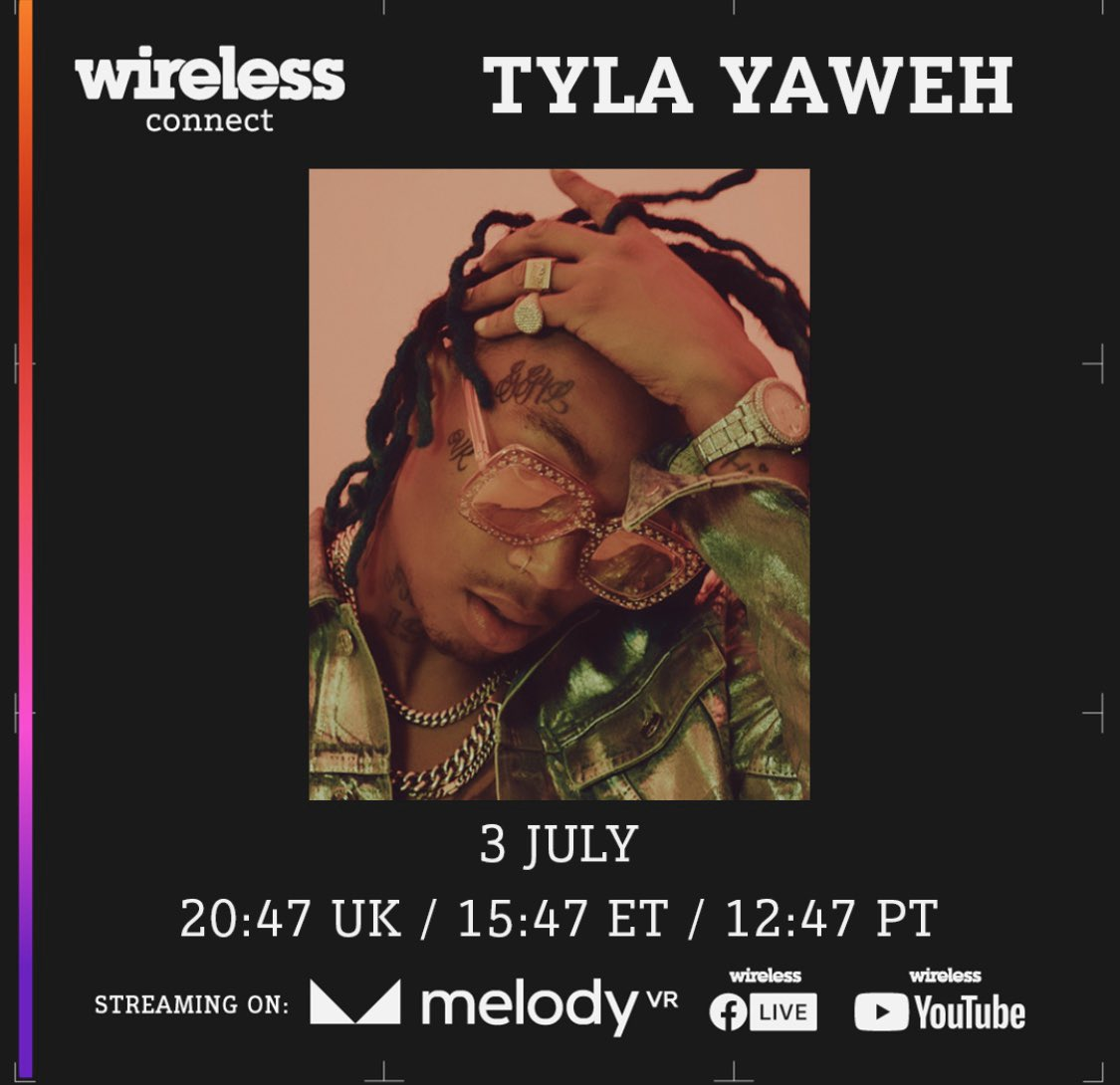 @wirelessfest #wirelessconnect Stream the performance in 360° on the @MelodyVirtual app or on Wireless's YouTube Channel and Facebook Live m.youtube.com/channel/UCarci…
