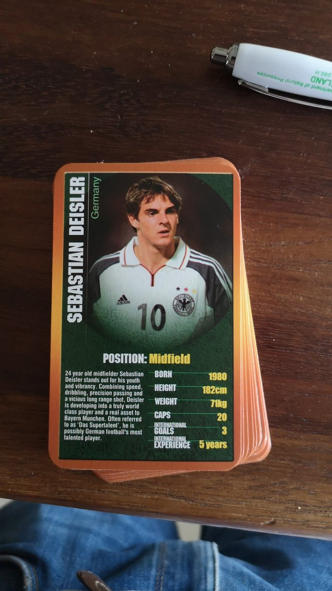 Sebastian Deisler, back when he was 'possibly German football's most talented player'