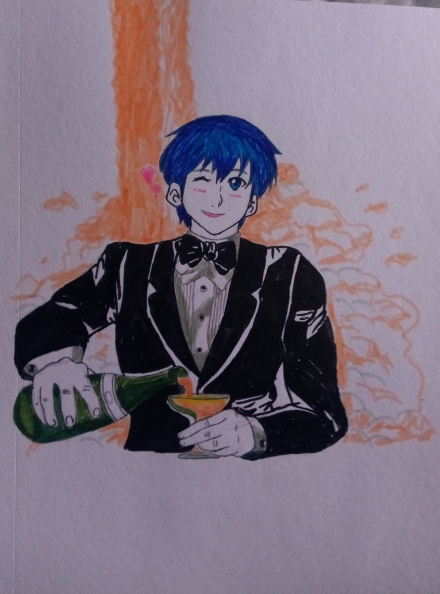 First post. Marth offering champagne  <br>http://pic.twitter.com/80kw4Rxk91