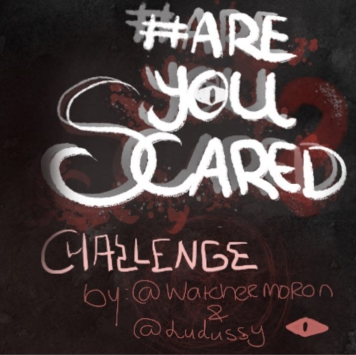 #areyouscaredchallenge  Rules Awesome art illustrations done by @/ludussy on instagram challenge created by us https://t.co/RqXYyPhout
