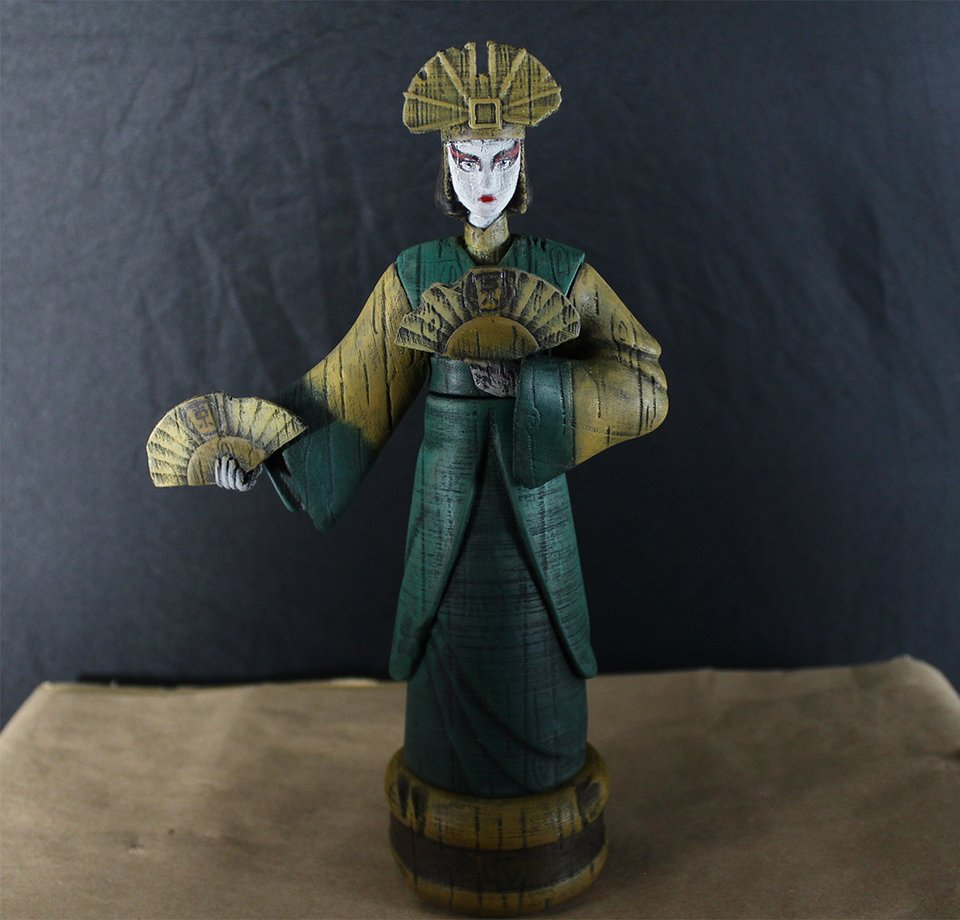 3D Printed Avatar Kyoshi statue using Wood PLA .  If you are looking for a 3D Printer to design something similar, visit https://bit.ly/38mPXxQ    by u/Plastic_Half (Reddit)pic.twitter.com/lsndslwUvO