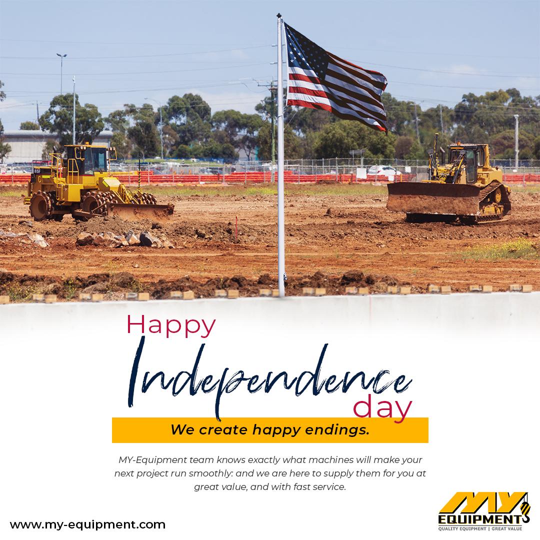 Happy Fourth of July!  #caterpillar #hitachi #komatsu #volvo #hyundai #ingersollrand #grove #tadano  #dynapac #jcb #masseyferguson #excavator #motorgrader #wheelloader #backhoeloader #forklift #roadroller #tractor #crane #heavyequipment #heavymachinery #HappyIndependenceDaypic.twitter.com/nJYfb3ga8z