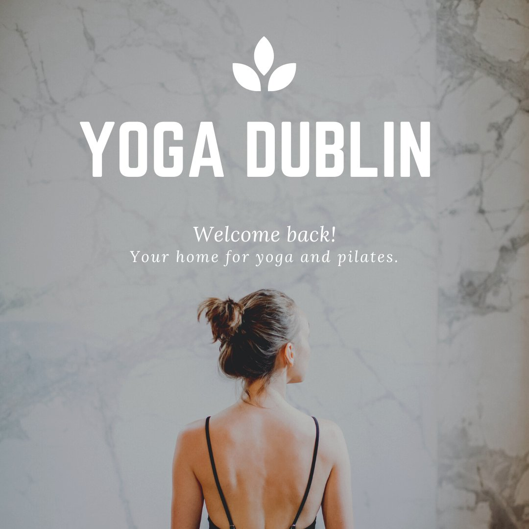 We're SO SO excited to re-open our studios this Saturday 4th July! We would like to thank you all for your continued support over the past few months 😀  Check out our new studio schedule & guidelines for this weekend! Book through our Website, App or Mindbody. #yogadublinstudio https://t.co/exiDhNYwyC