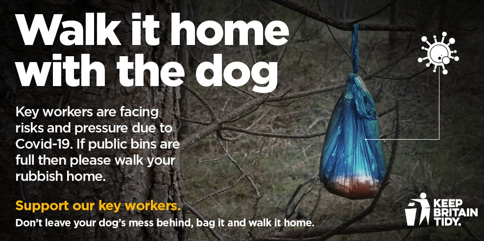 Help keep our staff safe and our Borough looking beautiful. If a bin is full, please keep hold of your rubbish and put in the next nearest empty bin or take it home. https://t.co/WPAuveIrSi