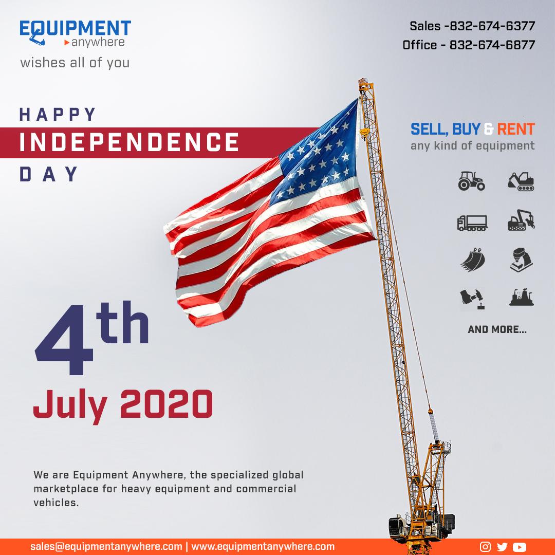 Happy Fourth of July!  #caterpillar #hitachi #komatsu #volvo #hyundai #ingersollrand #grove #tadano  #dynapac #jcb #masseyferguson #excavator #motorgrader #wheelloader #backhoeloader #forklift #roadroller #tractor #crane #heavyequipment #heavymachinery #HappyIndependenceDaypic.twitter.com/HH4Mq9Ij6P