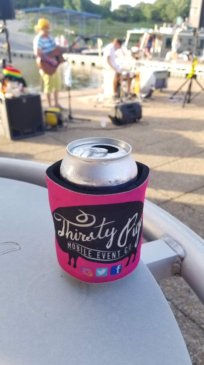 Great pic from last night from another #thistypigs #swag #inthewild #cheers friends ♥️ it when you share photos! #TheSheetDsm rocking it 🎸