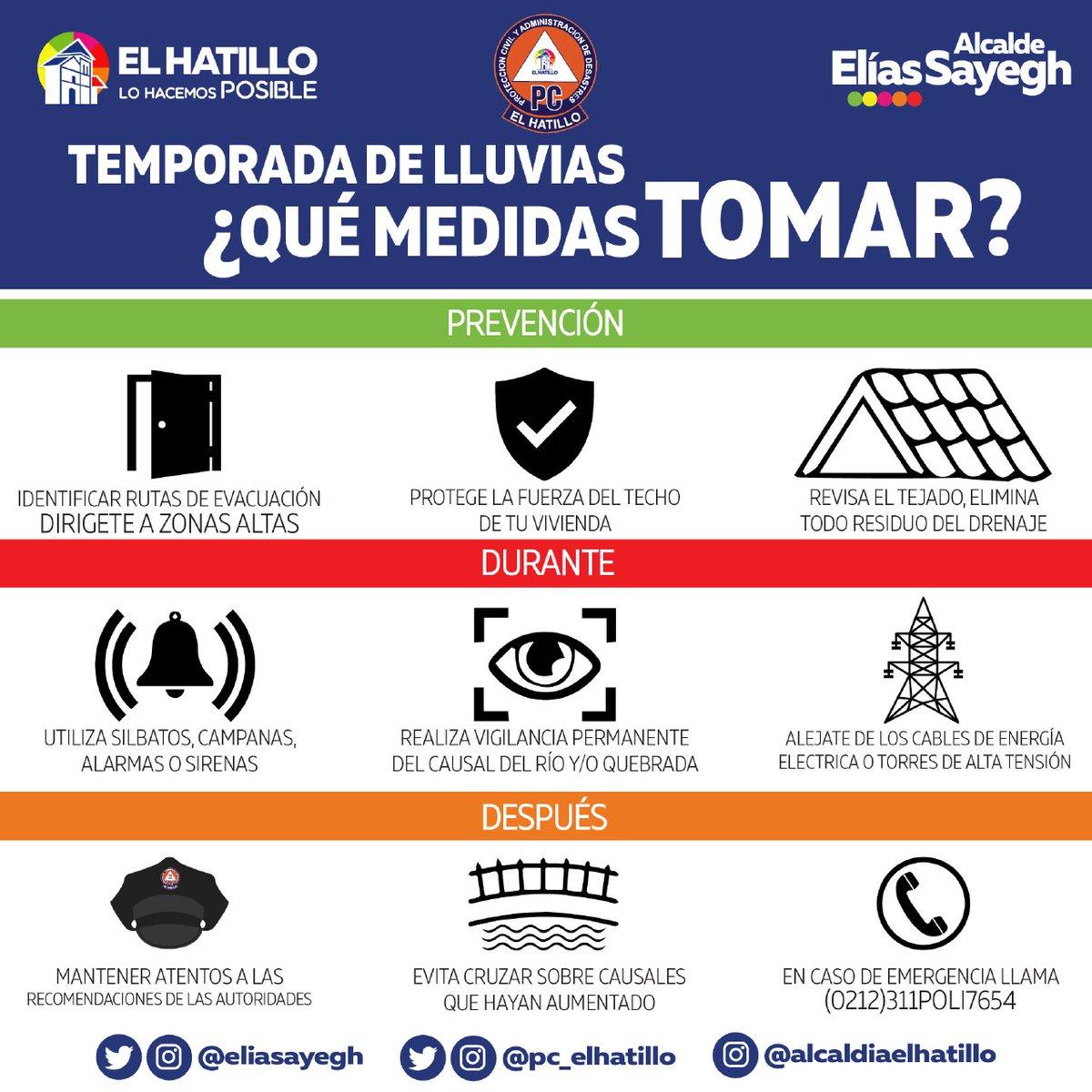 #AlertaElHatillo Ante cualquier emergencia que se presente en nuestro municipio comuníquese al (0212)311-POLI(7654) #ElHatilloSeguro https://t.co/OjbaXh5Woa