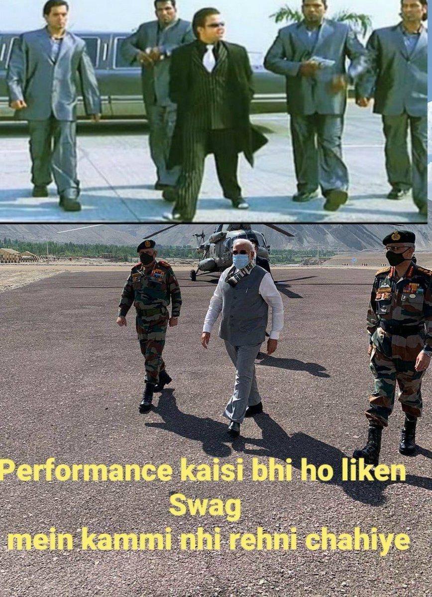 #performance Jaisi Bhi ho par #swag mein kammi rehni nahi chahiye  #memesdaily #modijokes #justforfun #SwagSeSolo