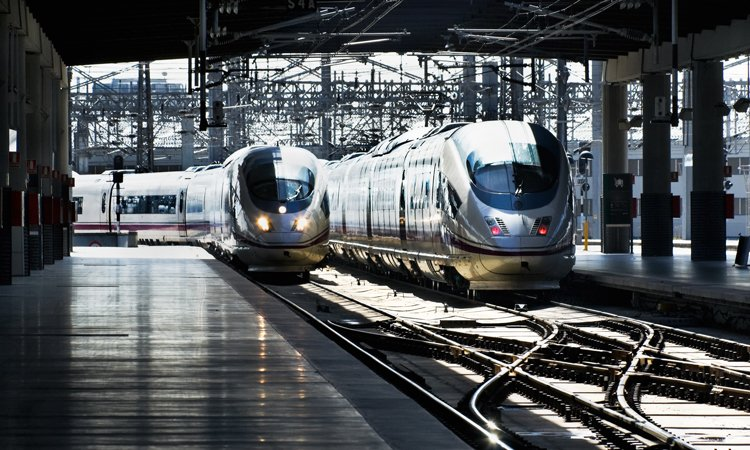 How to get there the answer is Rail   💌  - https://t.co/uvl8aKPMyd #adif #eress #trainstation #hauptbahnhof #bahnhof #gare #railwaystation #railstation #ecotravel #greentravel #nopollution #infrastructure https://t.co/fZ3yc2XDrw