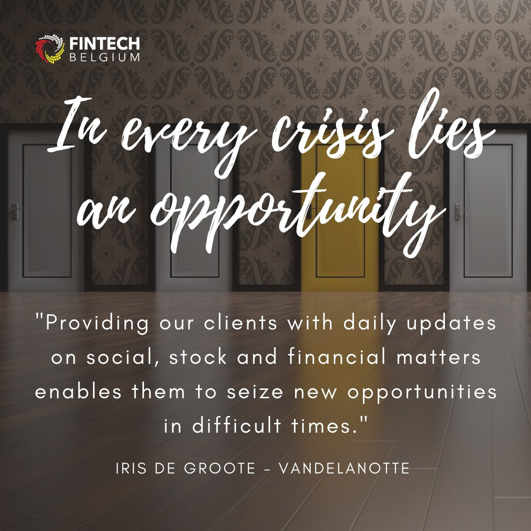 QUOTE OF THE DAY - By Iris de Groote from Vandelanotte, during our 13th #webinar session on  #Healthy Financials  Did you miss this webinar? Lucky you! You will find a REPLAY here: https://t.co/dZHuAgtQG0 https://t.co/A5PMKnGqwb