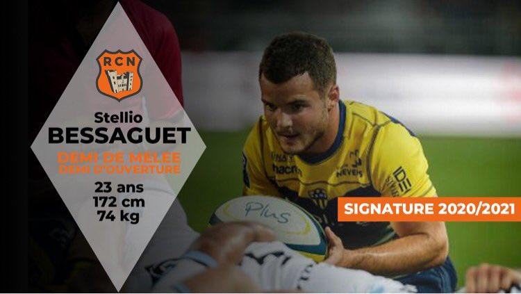 RECRUE ✍🏻  Stelio BESSAGUET s'engage avec le Racing sous forme de prêt pour la...