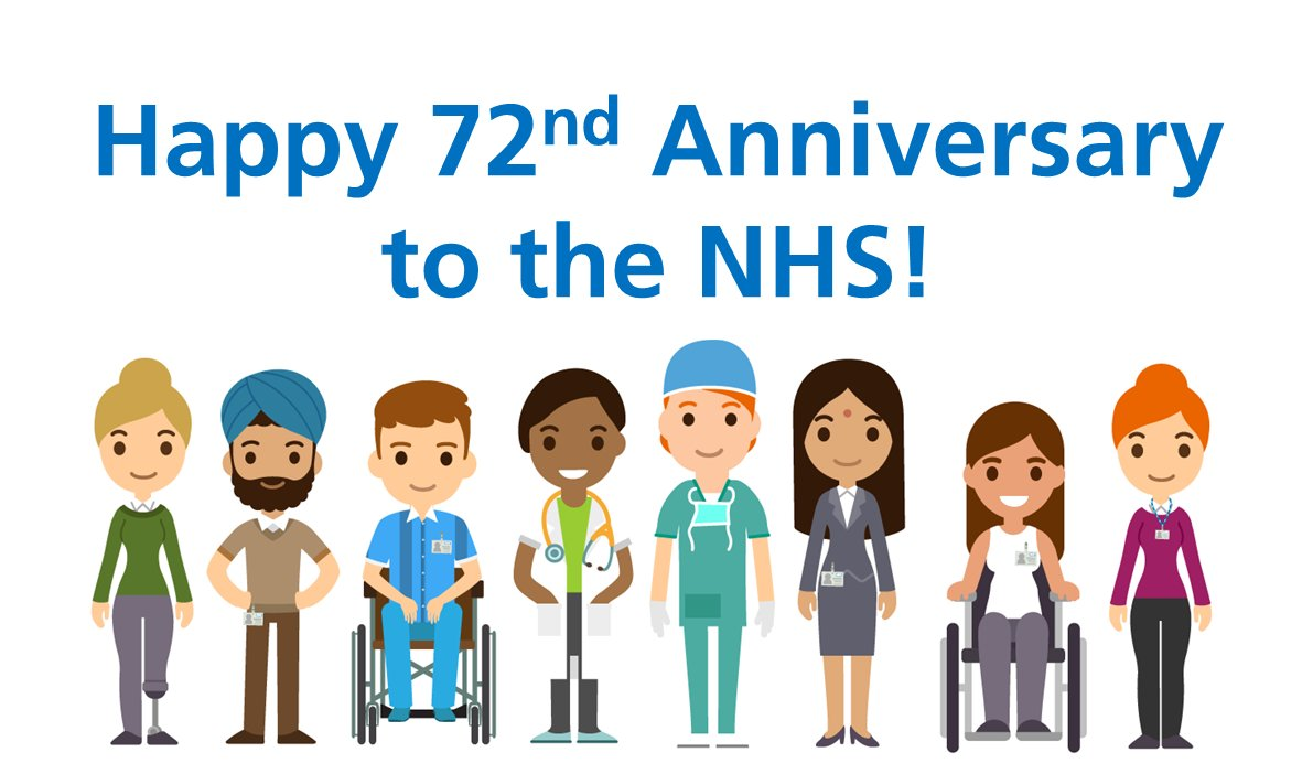 Every week of the pandemic, we have seen our local community in Swindon and the surrounding areas show their love and appreciation for the NHS.   We want to use our 72nd anniversary as an opportunity to say thank you back. To thank you for helping us to help you. https://t.co/HabLSlWXXU
