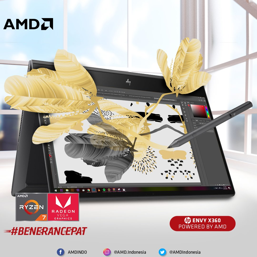 Amd Indonesia On Twitter Segera Dapatkan Hp Envy X360 Yang Pakairyzenvega Di Toko Terdekat Di Daerahmu Atau Di Toko Online Official Di Link Berikut Blibli Https T Co Qe3n87kdkr Shopee Https T Co Nwfuqcrvre Tokopedia Https T Co 2lddazx1ny