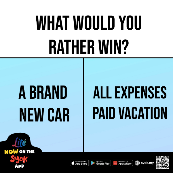 What would you rather win? 😁 https://t.co/ESqaDinHAC