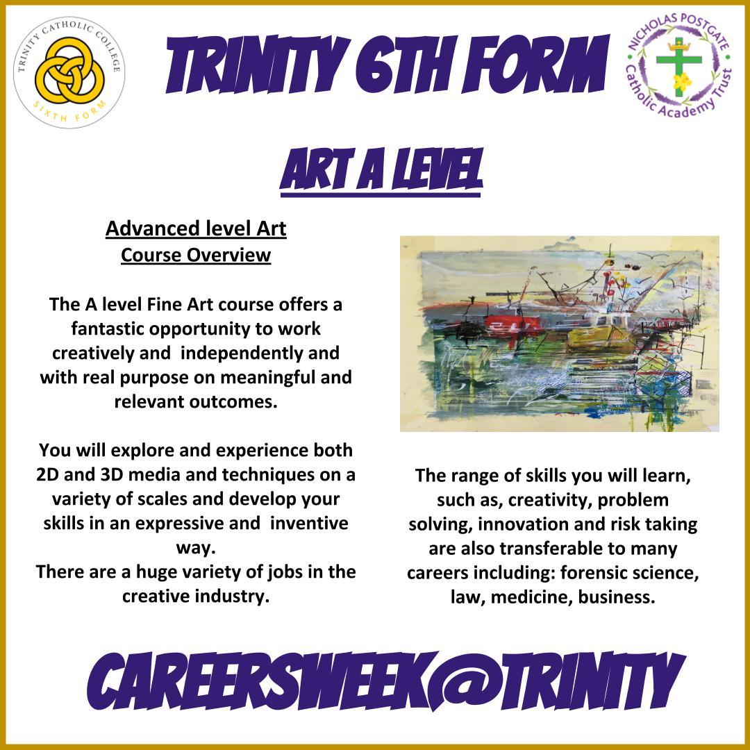 Final Day of Careers Week......see more on Facebook and Insta  #TrinityCareers  #NextSteps #Trinity6thForm #Future #CareersWeek2020 #CareersWeek #IAG #job #apprenticeship #highereducation #furthereducation #virtualworkexperience #teesvalleycareers #aspirations #trinityfamily https://t.co/0U24YW68r2