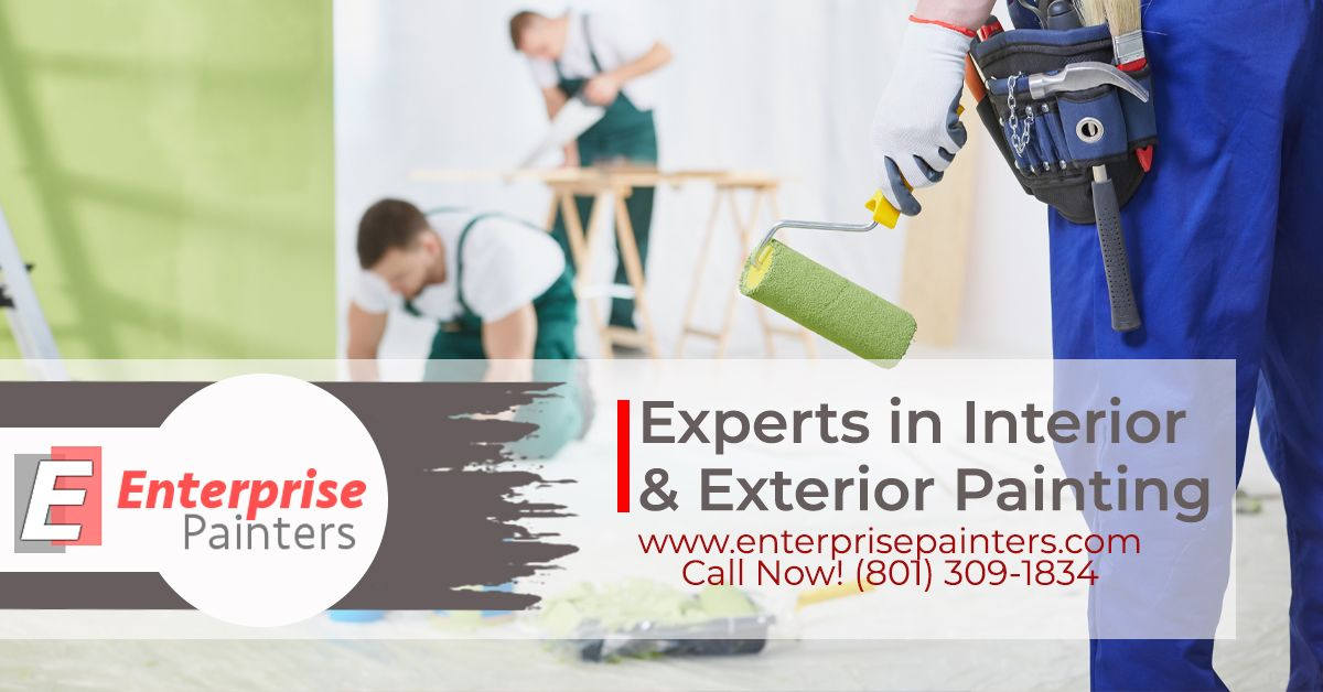 Transform the overall look of your home instantly with our interior painting ideas and services.  Painting Ideas Salt Lake City UT |(801) 309 1834| Enterprise Painters | https://buff.ly/3dr3yWU   #CommercialPainting #ResidentialPainting #Painters #ExteriorPainters pic.twitter.com/yv4LqpyePI
