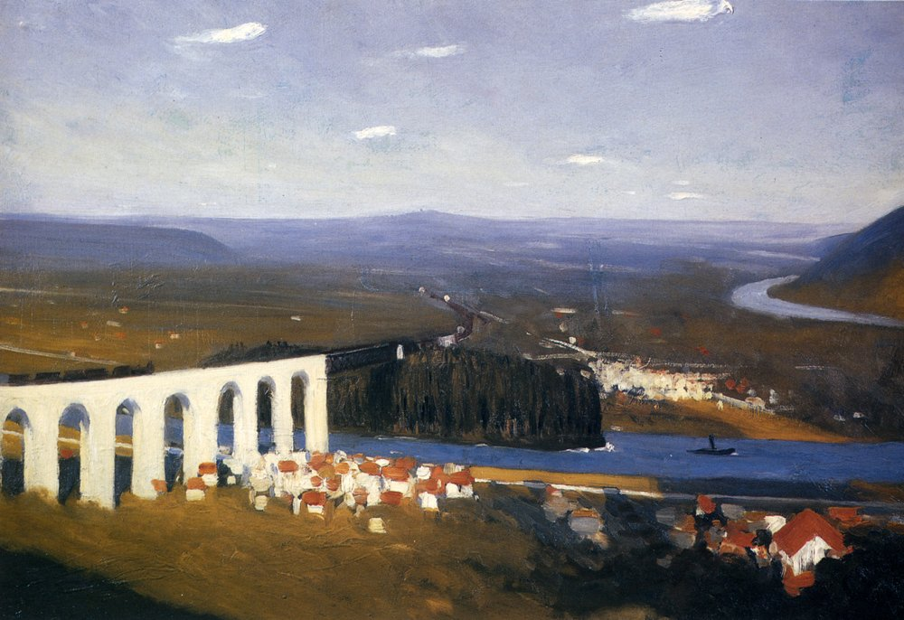 Valley Of The Seine, 1908 #newrealism #edwardhopper<br>http://pic.twitter.com/aIVIWHpJvv