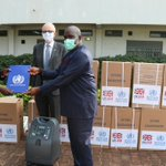 Image for the Tweet beginning: .@WHOSouthSudan and @DFID_UK today handed