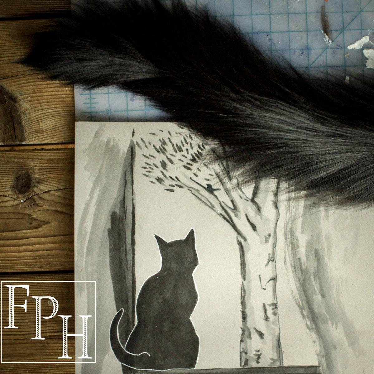 Finally, an ink as black as my cat.  (Noodler's Old Manhattan) -Mei #blackestblack #black #oldmanhattan #noodlers #cat #fph