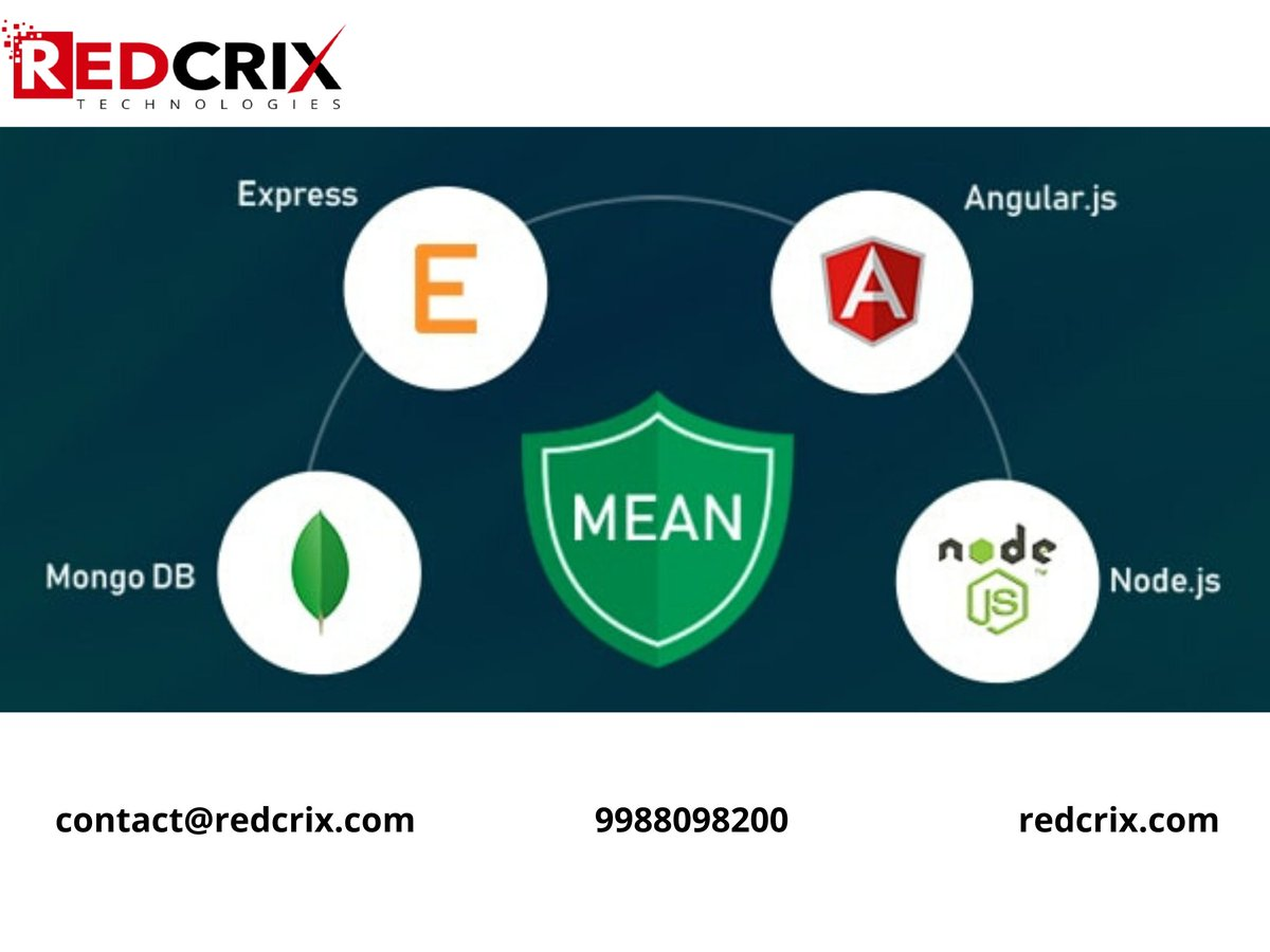 Five Reasons to Choose MEAN.JS Stack...  1)Reduced development cost. 2)Fast MVP development and scalability. 3)Increased developer flexibility and efficiency. 4)Excellent performance. 5)Large talent pool.  #fullstack #javascript   https://www. redcrix.com    <br>http://pic.twitter.com/hZK6fIqmsE