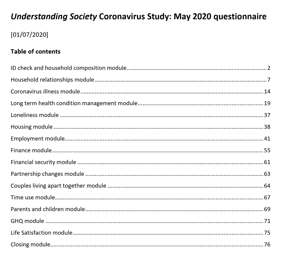 Wave 2 data from the Understanding Society Covid-19 Study are now available - collected late-May/early-June @usociety  https://beta.ukdataservice.ac.uk/datacatalogue/studies/study?id=8644 … https://www.understandingsociety.ac.uk/research/themes/covid-19 …pic.twitter.com/yPUyDvxiu1