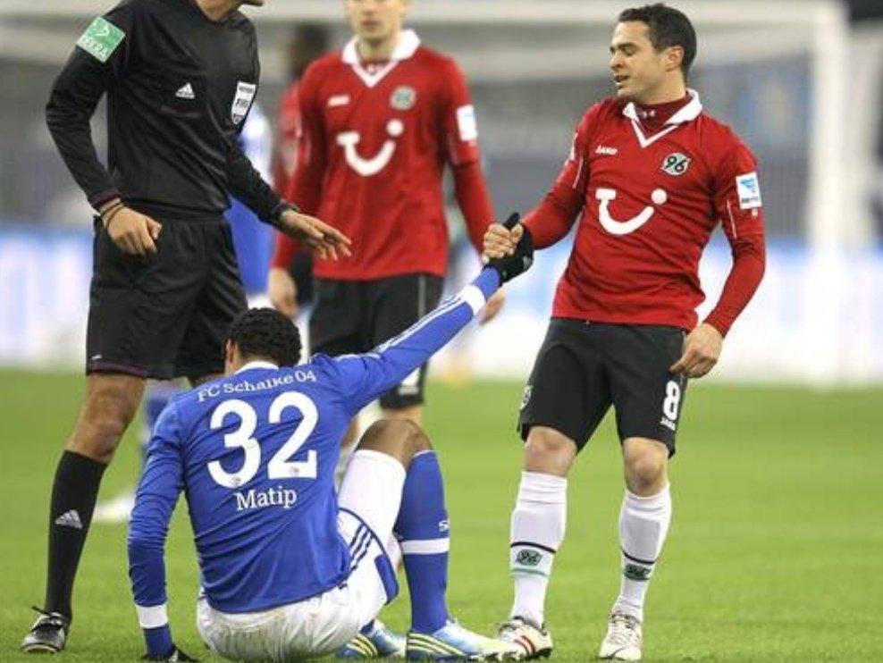 In Farben getrennt in sportsmanship vereinte pic.twitter.com/2XoJajOkwW