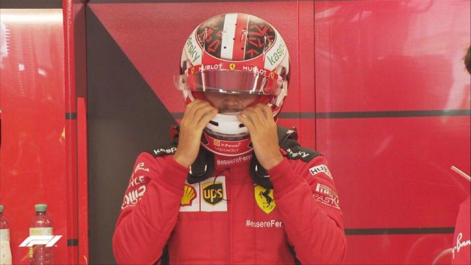 C'est parti pour Charles #Leclerc pour les #FP2 🔥   #Charles16 #CL16 #Leclerc #AustrianGP 🇦🇹 #Formule1 #F12020 #F1 #Ferrari #essereferrari https://t.co/EYOeEB0YmQ