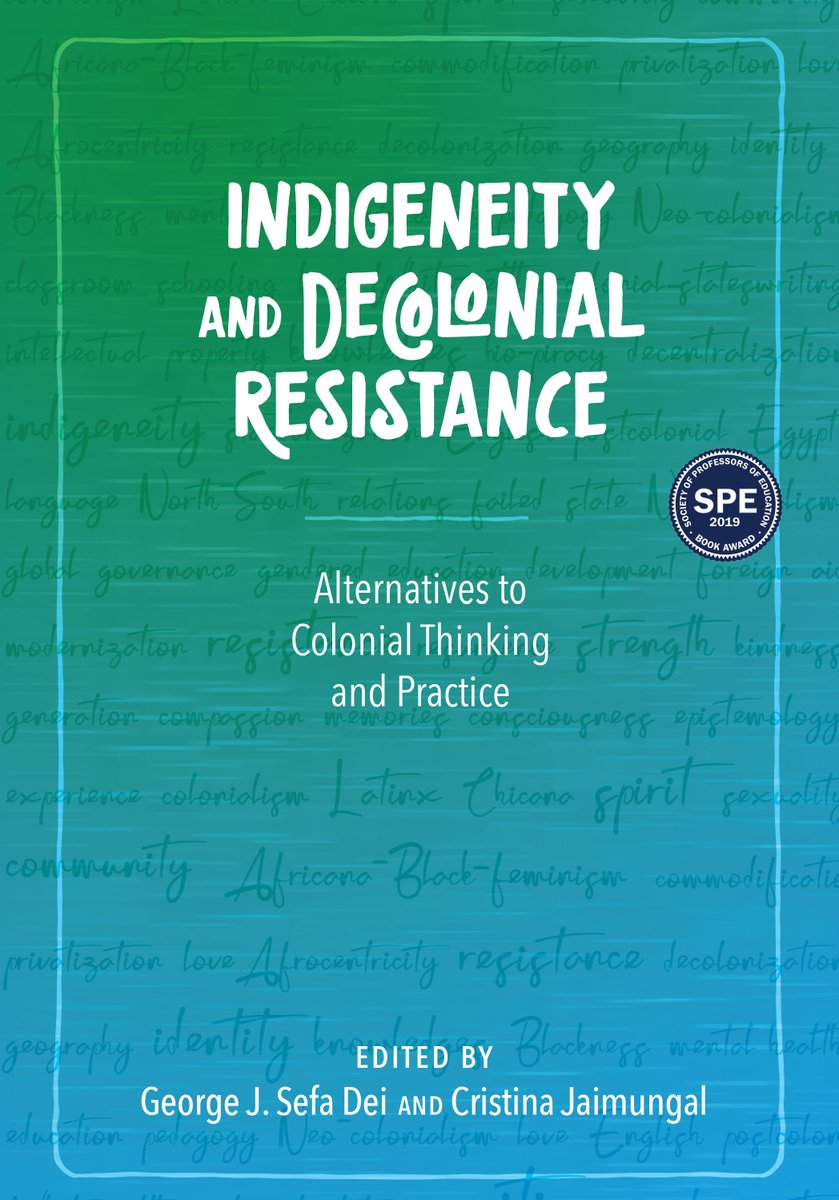 An excellent text for use in a variety of upper-division undergraduate and graduate classrooms. It is also a valuable addition to the libraries of writers and researchers interested in indigenous studies and decolonialism. #SocialJustice #Indigeneity  http://ow.ly/PnGW50AmUvvpic.twitter.com/iHXhuV3fRH