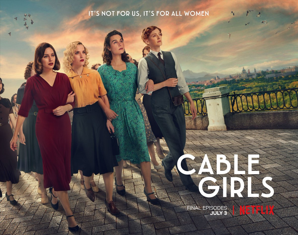 Their fight for independence isn't over. Catch the final season of Cable Girls on Netflix now. https://t.co/IC3ekymxjw