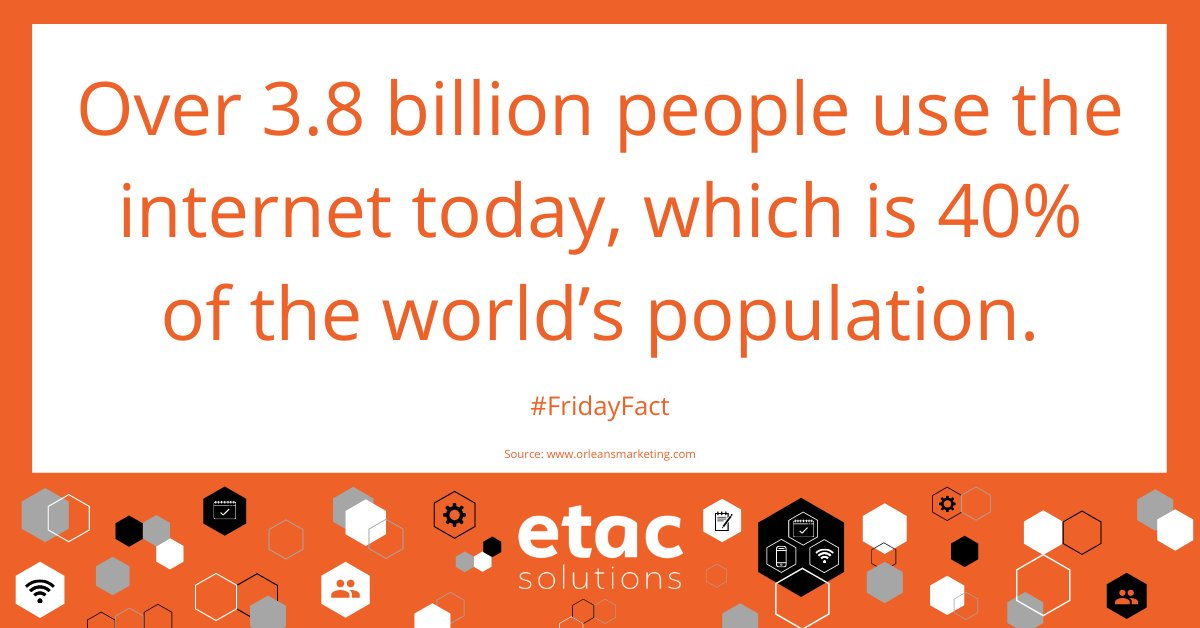 That's a huge amount of people, the Internet is such a powerful tool! #etacSolutions #ERPSolutions #BizHourpic.twitter.com/Sxb49YpVVf