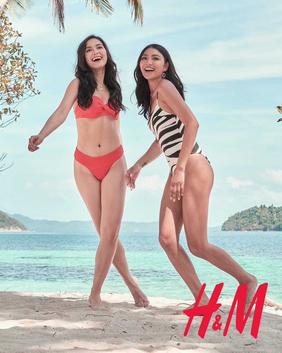 Have you seen this window photo at H&M stores yet? ⠀⠀ @hm #HMSwimEssentials with @nadine and @iammajasalvador #NadineandMajaforHM  #nadinelustre #majasalvador pic.twitter.com/1HWJn2XkOq