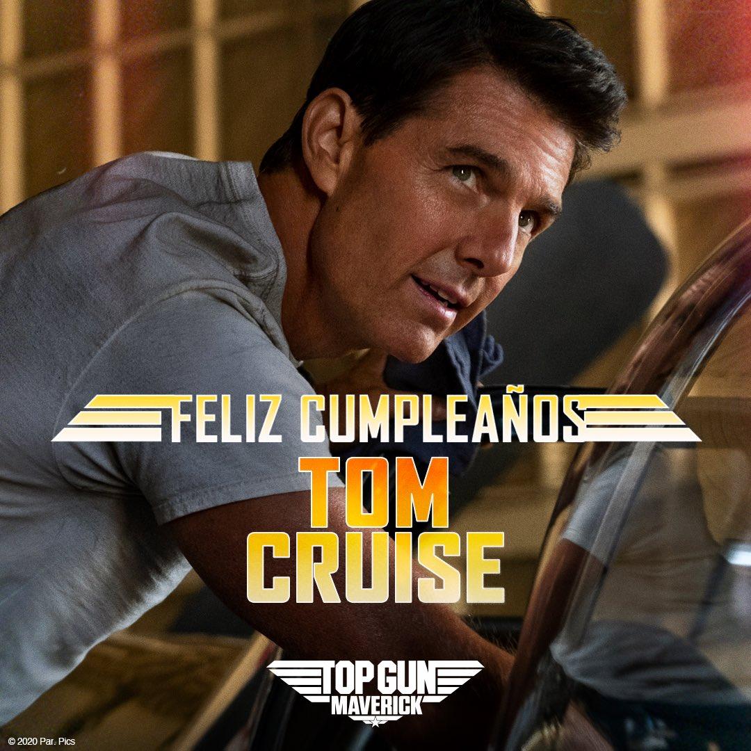 ¡Feliz cumpleaños al único e inigualable Maverick, @TomCruise! #TopGunMaverick https://t.co/FhSYrKOeIh