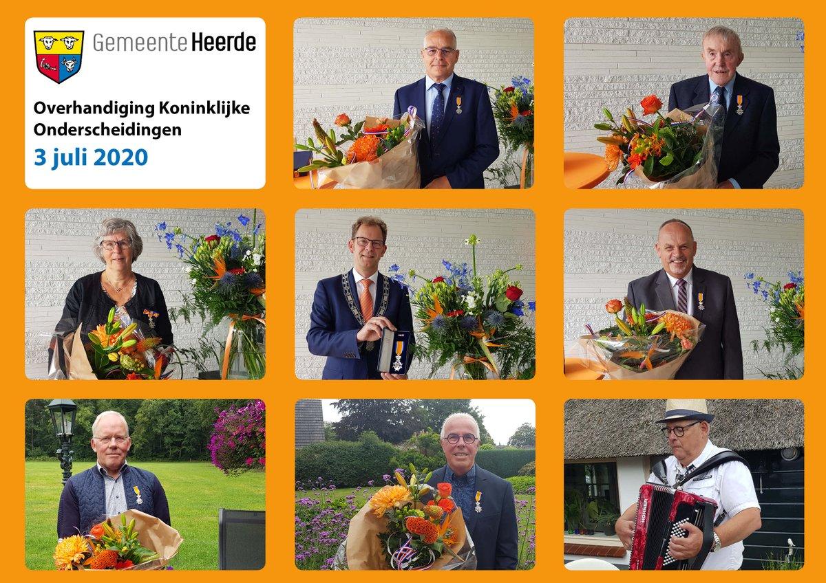 Vandaag overhandigde loco-bgm @wolbert_meijer Koninklijke Onderscheidingen die door corona niet uitgereikt worden tijdens de lintjesregen op 24 april. De gedecoreerden zijn Ben Veldkamp, Ab Leurink, Klaas Doornink, Zwier Hottinga-Doornbosch, Dick van de Put en Herman de Graaf. https://t.co/yk77lQ9v2d