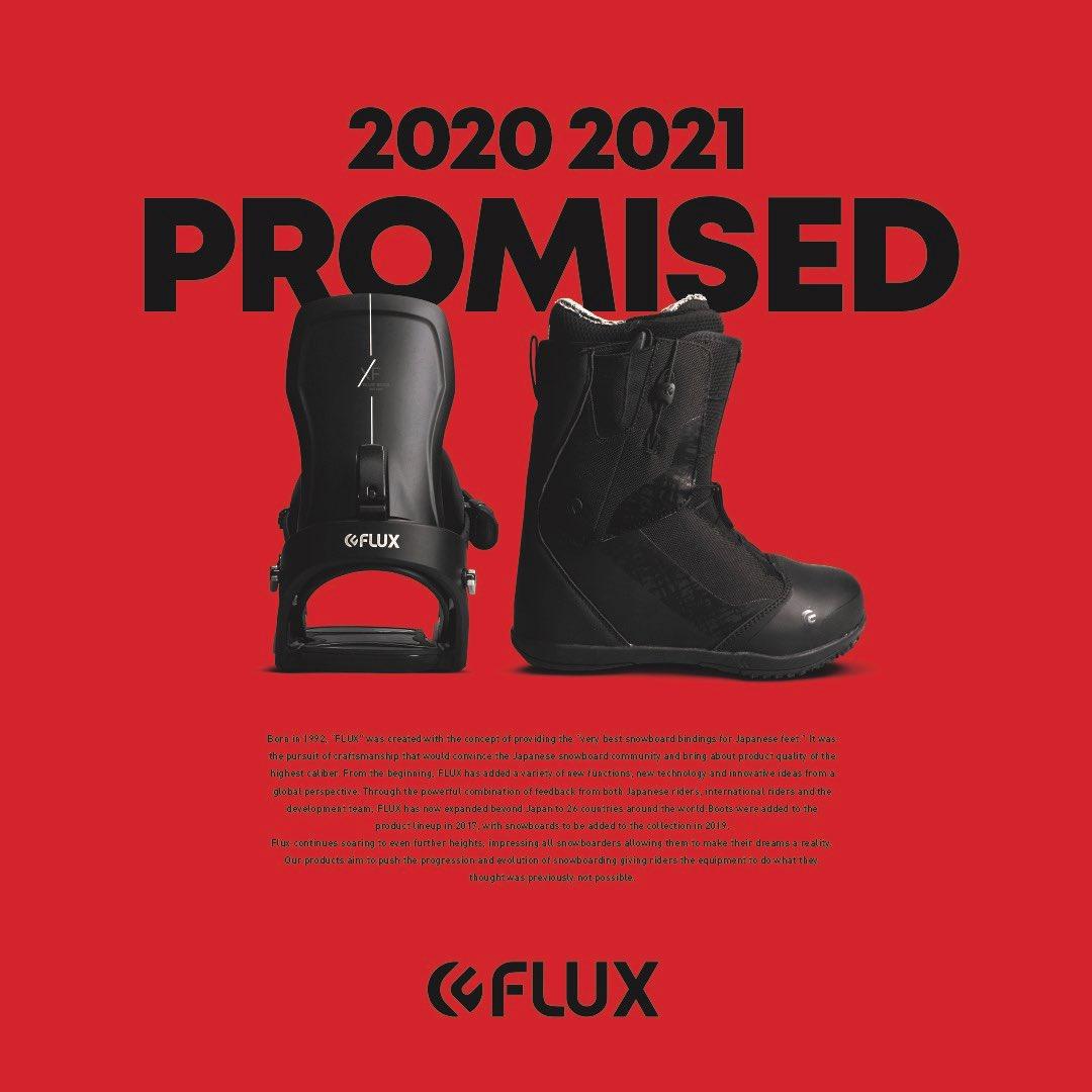 2020-2021 PROMISED FLUX_XF & VR-SPEED _ #fluxsnowboard  #fluxboots  #fluxbinding  #flux_japan https://t.co/n9FmKLBJTZ