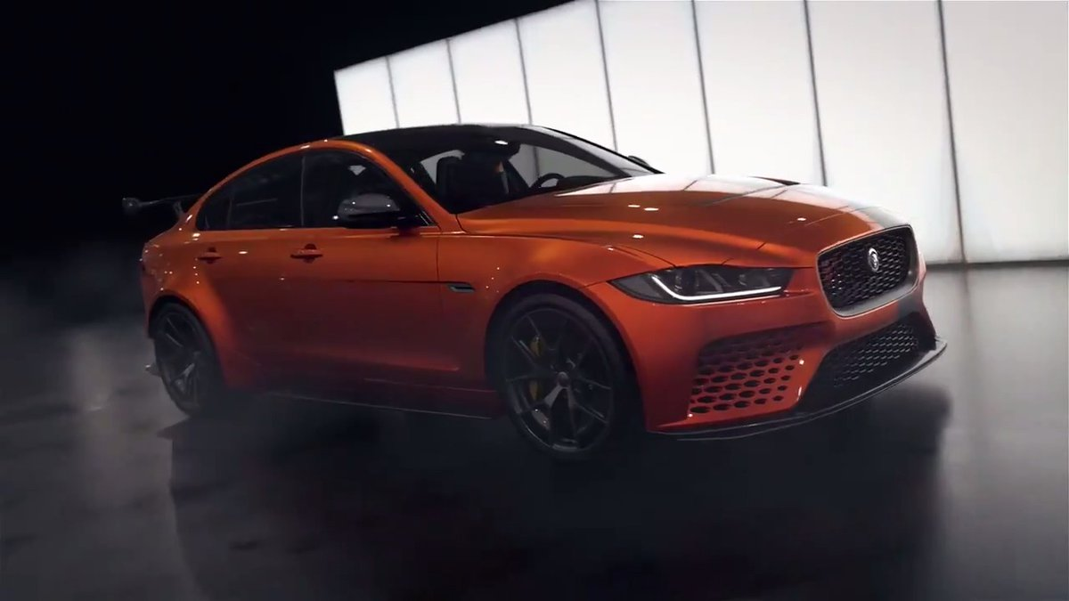 Image for the Tweet beginning: Watch as #Jaguar XE, our