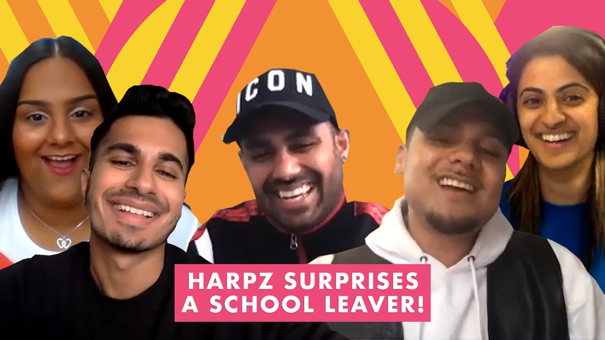 Not sure about you, but dont think we would have handled @HarpreetUK surprising us with @iamMickeySingh, @THEJAZDHAMI and @ArjunArtist as well as Jhalak did 😂❤️ Class of 2020, todays Breakfast Show was a party for you! 🥳 You can listen to it on BBC Sounds