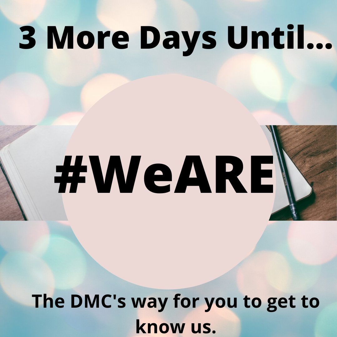 Only 3 days left!! Stay tuned! And let us know of some things you're looking to find out about the DMC! #DMCFSU #COSSPPpic.twitter.com/hexcx122my
