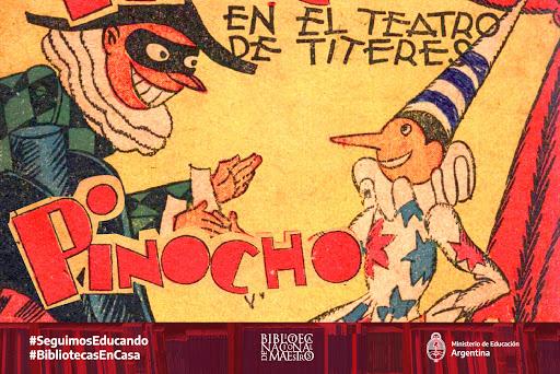 #LaBNMEnTuCasa Compartimos «Pinocho», un cuento clásico para que disfruten en familia. https://t.co/xuJGb1KqWZ  #BibliotecasEnCasa #SeguimosEducando https://t.co/tAc1lcml74
