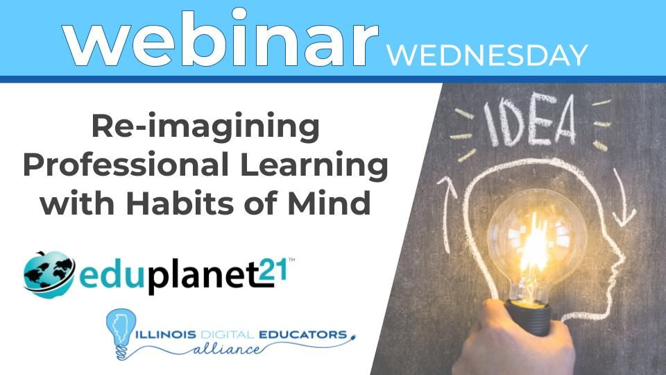 Join #IDEAil @Eduplanet21 @benakallick & Art Costa to see how they are using the  #HabitsOfMind Professional Learning Institute to create communities to support instructional coaches, agency trainers, school leaders, & teachers. Register https://t.co/vmDbJQnaAq . @habitsofmindedu https://t.co/w5j2Ub8bSd