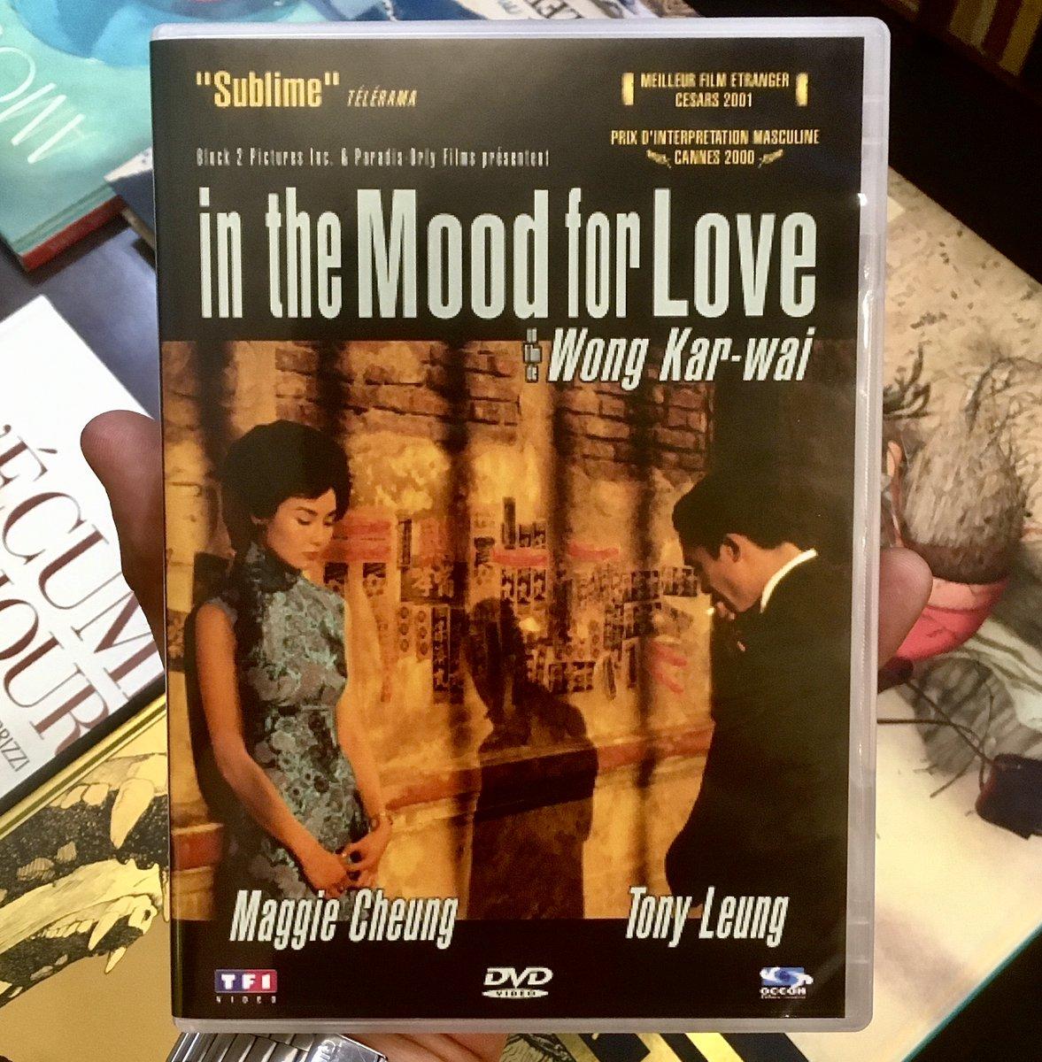 Idée #film pour ce #weekend, #inthemoodforlove classique intemporel de #WongKarwai  ➡️ #César du meilleur film étranger en 2001, prix interprétation au #FestivaldeCannes pour #TonyLeungChiuwai  #LaBourse #cinema #DVD #BluRay #neuf #occasion #Lyon https://t.co/kmhqk6acap