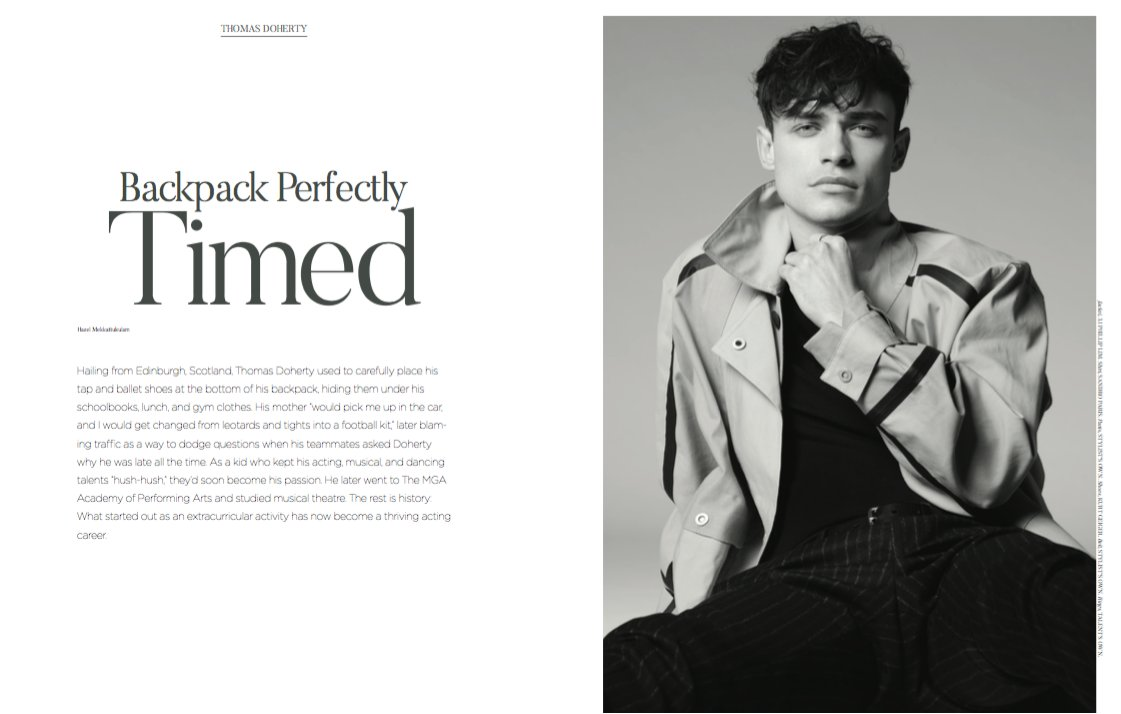 Fantastic article featuring @thomasadoherty in @Civilian_Mag June Issue! Read the full article here: civilianmag.com/blogs/spring-s…