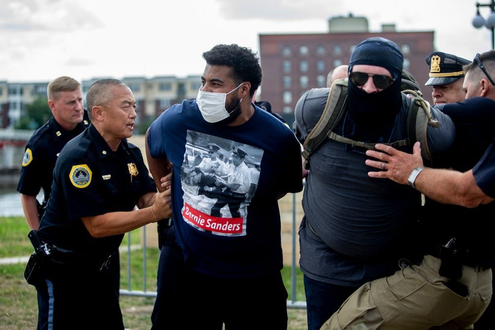 Hero. I found this photo (taken by Kelsey Kremer) in a Des Moines Register article. #BLM #iapolitics