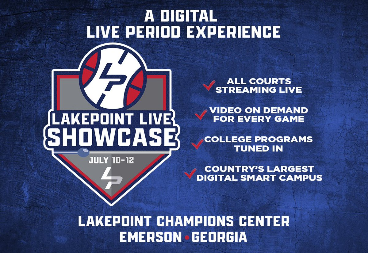 It's been a really exciting week for #LakePointHoops with college programs locking in their spot to watch 100+ Division 1 prospects next weekend at the #LPLiveShowcase!  College coaches, get your program registered for access to live stream with rosters: https://t.co/jywqPnauLE https://t.co/L7aGjUqbsc