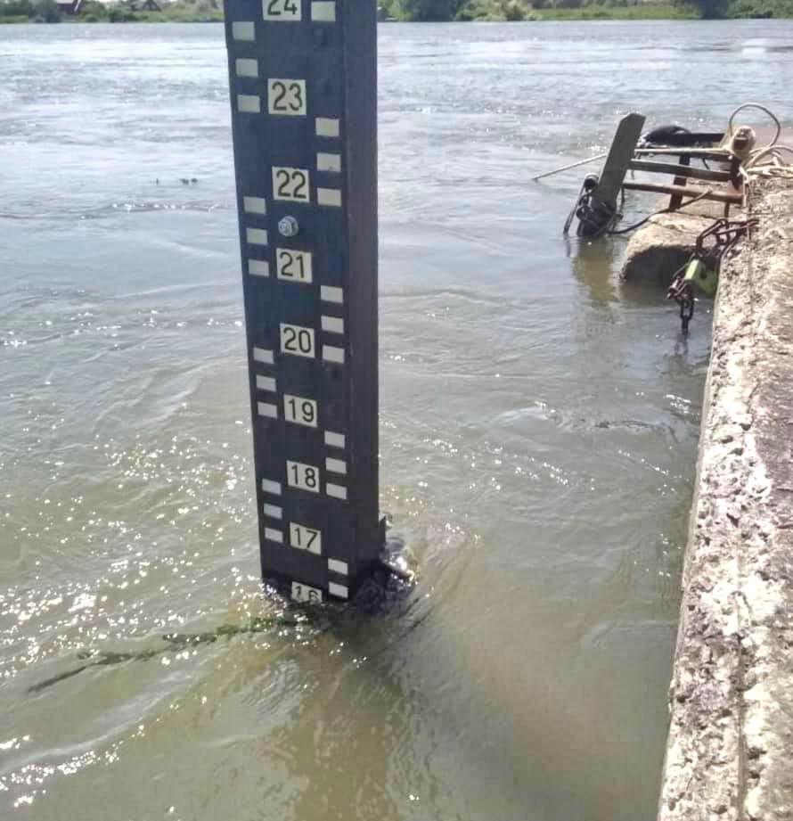 Днестр угрожает затопить на Одесчине трассу