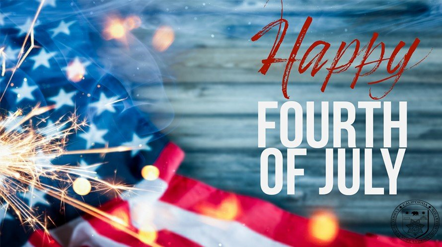 The CCSO office will be closed on Friday, July 3, in honor of Independence Day. We will reopen for business on Monday, July 6. We will be monitoring the telephones while the office is closed. Please leave a voicemail @(209) 838-2940/ emailccso@ccsonet.org. Thank you!#CCSOProudpic.twitter.com/WHjep6MQkV  by California Correctional Supervisors Organization